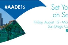 2016 AADE Annual Meeting / Join us Friday, August 12-Monday, August 15 in San Diego for #AADE16! Register now: http://ow.ly/YC3IA  / by AADE
