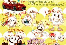 Let's Clicks LINE Sticker Download