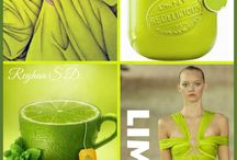 Color your life - fresh lime
