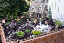 MINIATURE, MAGICAL AND MYSTICAL / Miniature gardens, fairylands, Magical and Mystical places / by Lynne Kells
