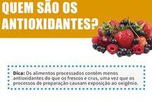 Alimentos antioxidantes.