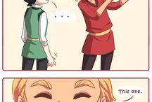 Loki, Thor, etc :D