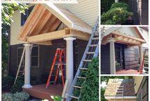 Curb Appeal / Front porch, landscape