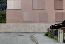 Fassade ruhend