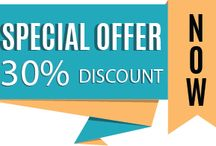 Special Offers / We give discount to our customer time to time. Follow us to take a benefit of discount offer.