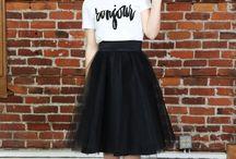 tul skirt