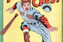 Baseball -- Comics / by GCD Grand Comics Database