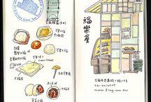 Midori Traveller's Notebook Inspiration / by Ajlin Ly