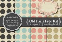 Printables, Layouts & Fonts