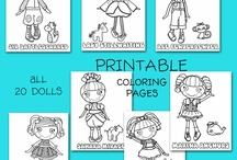 Kids colouring pages