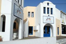 Santorini Luggage storage / We are the only place safe storage of your luggage in Santorini island