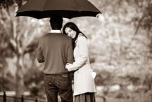 Umbrellas / Pre wedding umbrella photoshoot