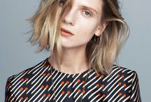 Hair  Fashion inspiration / mostly mid-length bob, braid