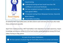 CIEH - Food safety /HACCP training courses / NIST is the only course providers for CIEH food management Course in India.  CIEH has developed food safety training to suit all employees in all types of food business.  CIEH Safety training course easy to develop and implementation of HACCP in Catering Industry.