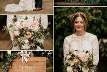 Blush and Pink Tones : Wedding Colors
