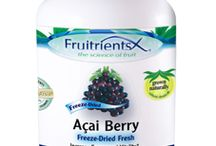 Fruitrients Organic Superfruit Supplements / Fruitrients exotic fruit supplements using the best organically grown ingredients in the purest, most concentrated form possible. Fruitrients superfruits are additive-free, non-GMO, & gluten-free.