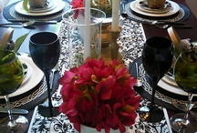 Ambience Dresses The Tables / by Delia Gibbs