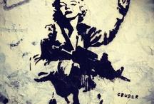 Grafite ícones urbanos