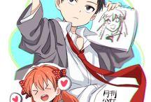 Gekkan Shoujo Nozaki-kun 月刊少女野崎くん / I rate this Comedy Romance Anime 10/10 !!!