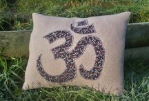 Om Cushions / This board is to showcase the lovely cushions I make and sell on Etsy.