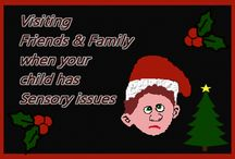 Sensory Christmas / Christmas with Sensory Processing Disorder - ideas to help stimulate or calm depending on whether they are sensory seekers or sensory avoiders.