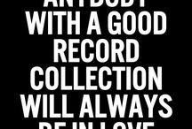 Record Collection • Vinyls
