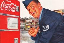 Coca-Cola Advertisements / Advertisements for Coca-Cola. / by Gloria Castellano