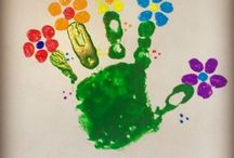 Hand & Foot prints DIY / Make your mark! Art made with hand & foot print ideas