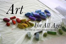 Art for Kids / Teaching art to kids, art curriculum, creative art ideas for kids, art for kids