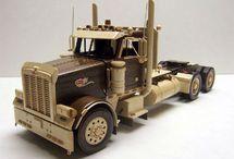 Camion e modellini