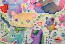 Ginette Lapalme / Ginette Lapalme is a Toronto-based visual artist and publisher. Through drawing, painting, sculpture and crafting, Ginette creates imaginary worlds and immersive environments filled with distinctively bizarre creatures and subversive humour.