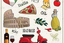 Betűtípusok,Minták - Olasz