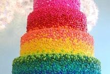 I love Rainbows, yes I do!!! / Everything rainbow, mostly cake!