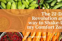 Eat Well | Comfort Zone Shake-Up / After the 22-Day Revolution Diet, I started in January as part of my #NewYearsResolution plan I'm looking for more ideas. I'm going to collect here what I wanna try, stay Tuned