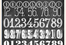 cijfers letteren
