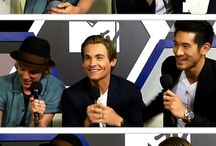 Kevin Zegers & Godfrey Gao & Jamie Campbell Bower & Lily Collins ♥♥