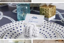 Nautical & Chevron theme / Wedding
