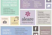 Aleare digital:design / A view of my portfolio & WIP