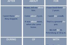 English- prepositions
