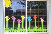 iskola / dekoráció,kézművesség