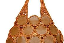 Leather and Crochet Handbags