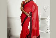 Bridal Saree Online Shopping / Jugniji.com : A huge sparkling collection of Indian ethnic wear in our attention-grabbing online showroom whose variety is growing every month. price $127.00 ## http://goo.gl/EYyrFS