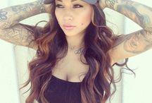 Britanya Razavi / SEE more at ★ www.tattoodlifestylemagazine.com ★