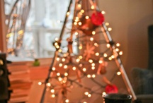 Trim Your Tree / Whether you've got room for a real tree or not, find festive ideas for your shop and home here!