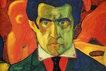 Russian Constructivists and Suprematists