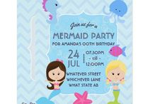 Mermaid themed Birthday Party Suite