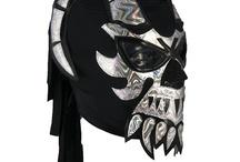 Masques de catcheurs mexicains