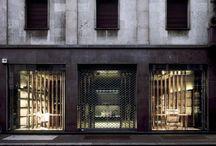 Exteriors - building facades