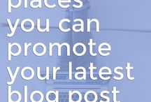 Promote Blogs / Include different sites to promote your blog.