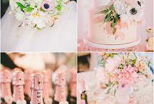 wedding colour ideas rose gold